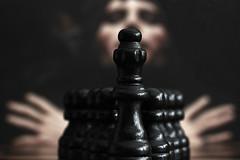 Macro Monday – Inspired by a Song (macduff312) Tags: macromonday macro monday inspiredbyasong queen chess black pawns freddie mercury freddiemercury albumcover queen2 canon d600 60mmmacro