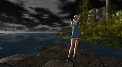Dernière danse (Sydney Levee) Tags: maitreya lelutka mesh dream sky glamaffair hurley ever lara2 sim world