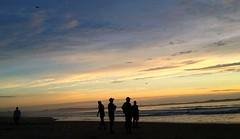Sunrise @ Cronulla (missgeok) Tags: sunrise cronulla cronullabeach sydney australia ilovesydney beach silhouettes cloudy peopleonbeach ocean seascape colours cloudscape beautiful goodmorning landscape nature