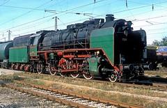 01 23  Pleren  07.10.13 (w. + h. brutzer) Tags: pleren eisenbahn eisenbahnen train trains railway bulgarien dampflok dampfloks lokomotive locomotive zug bdz 01 webru analog nikon