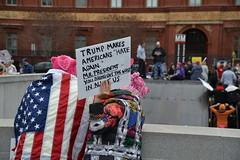 """""""Makes Americans Hate Again"""" (railsnroots) Tags: demonstrations first amendment womens march protest signs"""