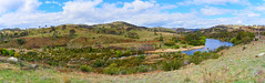 Murrumbidgee River (RobMacPhotography) Tags: landscapes murrumbidgee smiths road tharwa river water hills canberra act australia hiking fishing fields country sony a6000 panorama landscape clouds rob mac photography spring