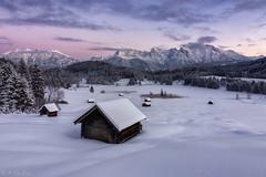 Geroldsee / Karwendel (MC-80) Tags: geroldsee gerold krün karwendel karwendelgebirge winter sunset outdoor
