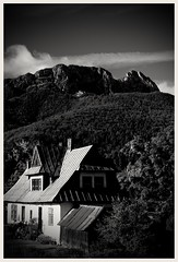 Giewont 02BW (Seba_LS76) Tags: mountains zakopane giewont landscape beautifullandscape postcard poland background