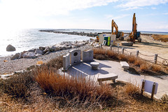 WWII Memorial (smartalex61) Tags: camp cronin war memorial narragansett ri rhode island beach point judith