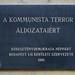 A kommunizmus áldozatainak  Gyorskocsi utcai emléktáblája