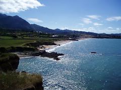 Asturias Landscape (Aerosol) Tags: sea summer espaa beach spain asturias playa viso 100club sevenseas caravia espasa analiza4044 50club