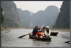 Tam Coc (Three Caves) - Ninh Binh - Vietnam   December 2005