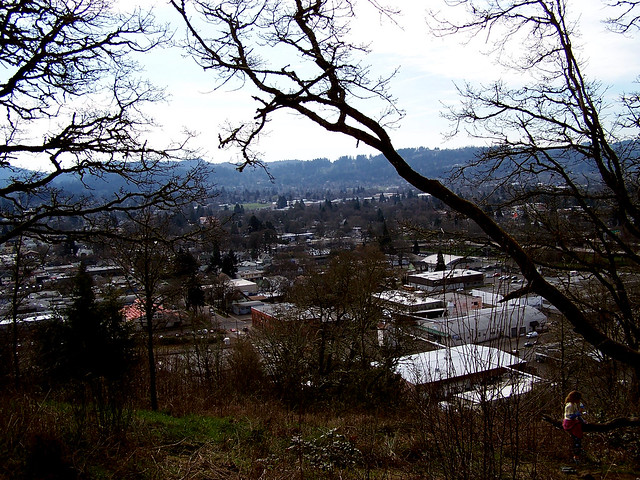 Looking over Eugene 1