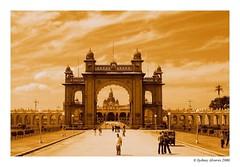 Amba Vilas Palace (Mysore) ($ydney) Tags: india topv111 canon palace mysore canonpowershot maharaja interestingness245 ambavillaspalace
