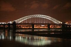 Runcorn Bridge (Hart from Golborne) Tags: bridge night river suspension harbour sydney illumination soe mersey runcorn