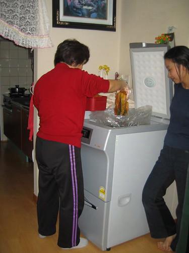 Kimchi Refridgerator