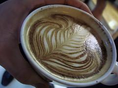latte art in Greece - by tonx