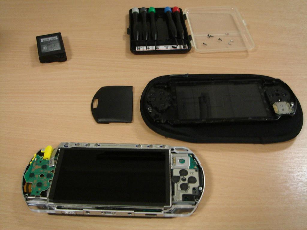 PSP disassembled