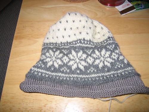 wool hat knittingolympics fiberolympics