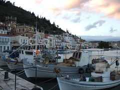 Yithio harbour, Greece (sandyhodges) Tags: mani greece peloponnese yithio
