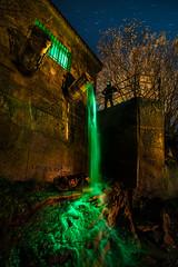 Toxic Spill II. (darklogan1) Tags: toxic green spill nightphotography comic longexposure stars night spain segovia logan darklogan1