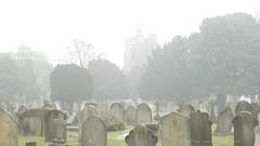 _C0A6771REWS Touching Clouds, © Jon Perry, 6-12-16 zax (Jon Perry - Enlightenshade) Tags: jonperry enlightenshade arranginglightcom 61216 20161206 fog cemetery tombstones stnicholas saintnicholas chiswick