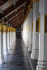 2016_04-Bangkok-M00084 (trailbeyond) Tags: architecture asia bangkok building column gold indoors location religiousbuilding temple templeoftheemeraldbuddha thailand thegrandpalace watphrakaew white