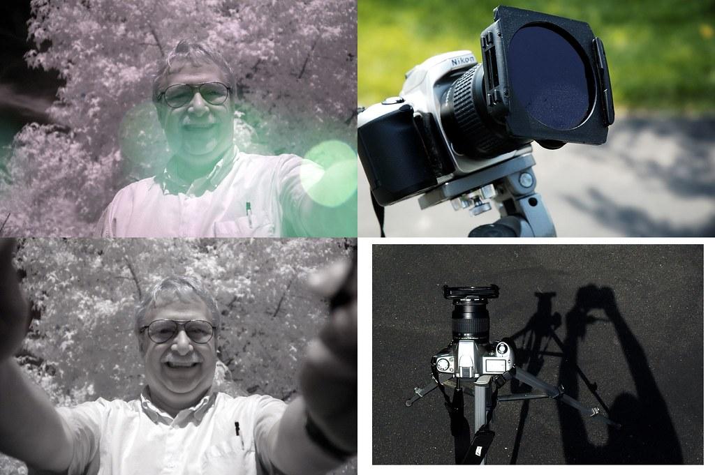 IR Lens Flare Study