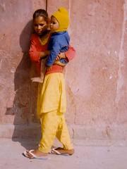 Taj Mahal Beggar