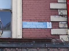 Grafton Street Sign