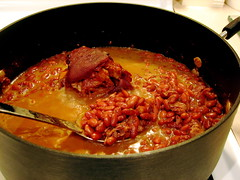 Red Beans & Rice (Squidly) Tags: beans redbeans rice ham hamhock onions peppers thyme recipe food soul