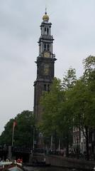 sail1495 (noelchico) Tags: amsterdamsail2005 amsterdam holland prinsengrachtcanal tower church built15651621