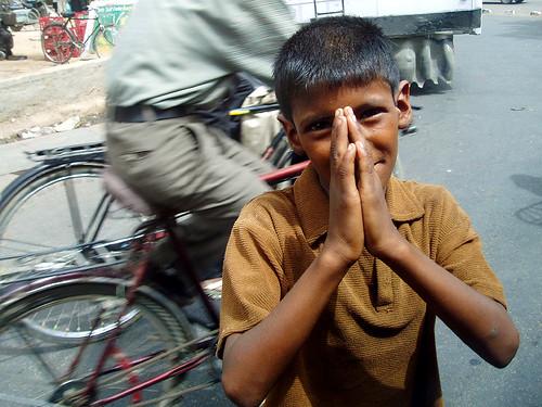 Begging Boy - Agra, India