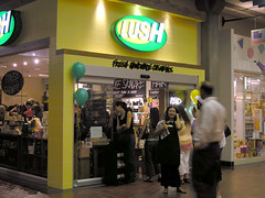 Lush Grand Opening Party (optically active) Tags: olympusc5060 lush bellevue opening