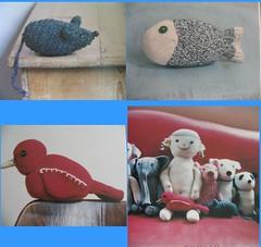 eski çoraptan oyuncaklar