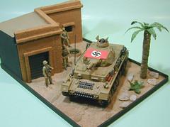 Bengasi, 1941 (CachoR) Tags: germany tank military wwii worldwarii german militar alemania diorama maqueta scalemodel tanque worldwartwo armoredvehicle alemn segundaguerra afrikakorps panzeriv sdkfz141