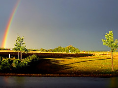 Bavarian Pot of Gold (Imapix) Tags: voyage road lighting travel light canada tourism nature topf25 colors contrast wow germany landscape photo rainbow europe photographie natural quebec gutentag route qubec saturation allemagne baviere tourisme bavarian arcenciel imapix naturecolors favpix topfavpix gatangbourque gatanbourque copyright2006gatanbourqueallrightsreserved  copyright2006gatanbourqueallrightsreserved imapixphotography gatanbourquephotography