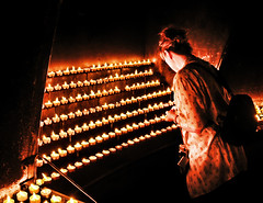 leave a light on for me (Cilest) Tags: light me religious austria candles cilest kurt religion mariazell