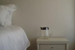 pitcher perfect (emdot) Tags: pitcher bedside glass pillows spasanitarium bb embadge