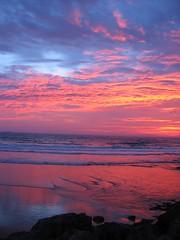 sunrise (*omnia*) Tags: sunrise morning australia ocean sea seaside beach topv111 coffsharbour auspctagged pc2450