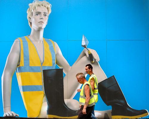 street blue urban london yellow topv111 construction boots