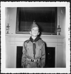 Boy Scout 1960 (Vermont Ferret) Tags: blackandwhite alexandria portraits 60s boyscouts scouts uniforms democrats shilling gop ehs morsecode the60s washingtonsenators alexandriava samrayburn flickryear episcopalhighschool scoutmasters seminaryroad griffithstadium arcaneshit bhfbk thehighschool theholyhill