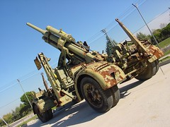 88mm ANTIAIRCRAFT GUN I (cutangus) Tags: gun military aircraft antiaircraft spanish civil war museum museo