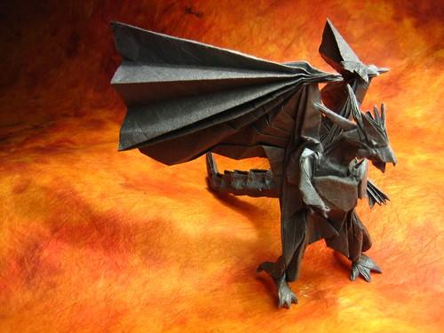 Bahamut (Divine Dragon) designed by Satoshi Kamiya