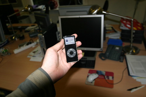 Enhanced Podcast on iPod Nano