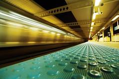 El Platform (candersonclick) Tags: subway eltrain chicago nightshots longexposure wideangle bite fujipress800