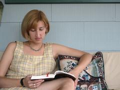 Jessica reading