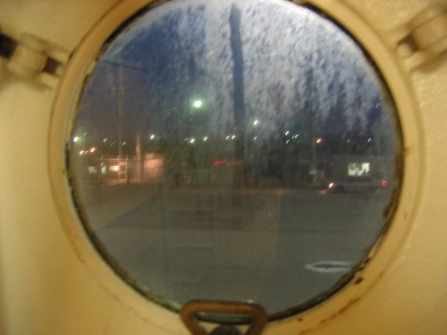 Fushiki port, through my port-hole.