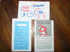 More Tracts (spike55151) Tags: comics religious heaven comic conversion god faith religion hell salvation religions annoying publication weirdos deceit savior publications irritant disrespect evangelical tract irritating guilt annoyance religioustract evangelicals annoyances faiths doorknockers tracts deceitful irreverant conversions irreverance thetiebreakingvote haveyoubelievedanothergospel threetruthseveryjehovahswitnessshouldknow religioustracts thesavior irritants selfserving selfserv knockonthedoor