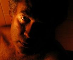 (O Caritas) Tags: people selfportrait me self bathroom bath candle flashlight ocaritas