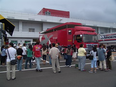 050828_03982.JPG (Shin_s) Tags: motorsports motorracing formulanippon fujispeedway fisco paddock