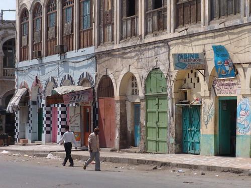 Djibouti City colours