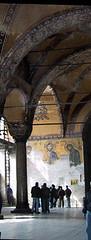 Byzantine mosaic, Hagia Sophia, Istanbul (birdfarm) Tags: ayasofya turkey türkiye byzantine mosaic byzantium hagiasophia İstanbul istanbul