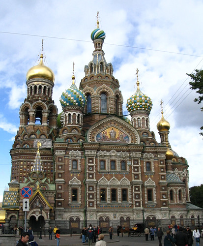 Church of Our Saviour on Spilled Blood. Photo by chillihead.